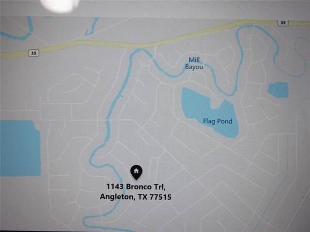 1143 Bronco Trail, Angleton, TX 77515 (MLS #75748906) :: TEXdot Realtors, Inc.