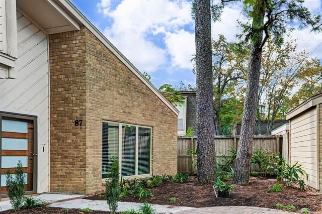 12625 Memorial Drive #87, Houston, TX 77024 (MLS #75751055) :: Homemax Properties