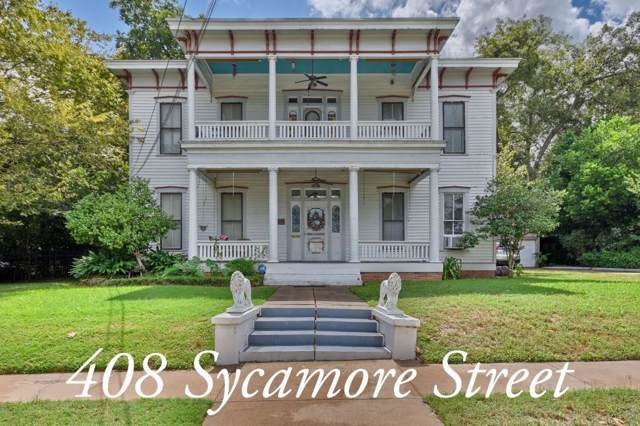 408 Sycamore Street, Brenham, TX 77833 (MLS #75833541) :: Phyllis Foster Real Estate