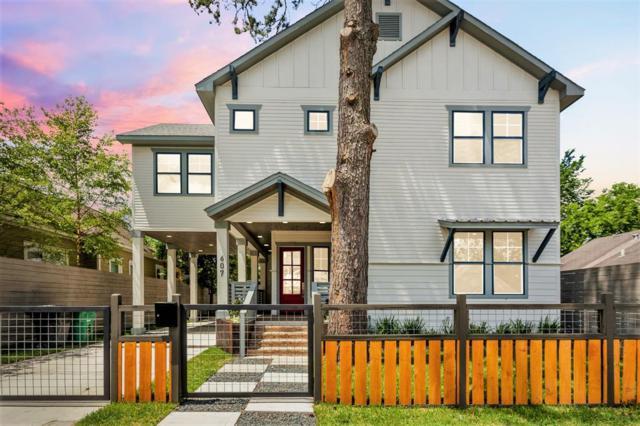 607 Archer Street, Houston, TX 77009 (MLS #75979483) :: Fairwater Westmont Real Estate