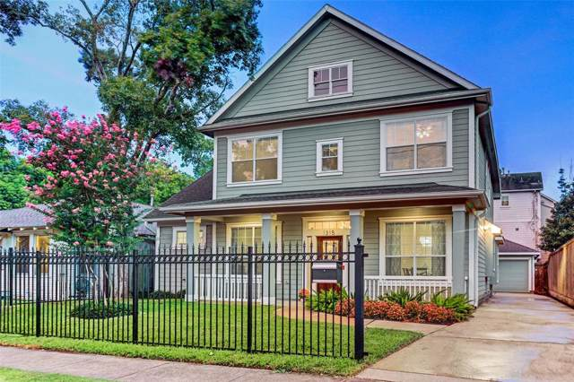 1315 Willard Street, Houston, TX 77006 (MLS #76060401) :: The Heyl Group at Keller Williams