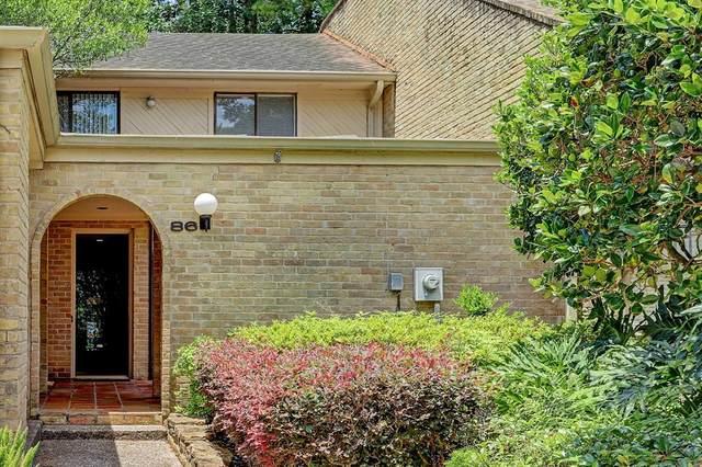 201 Vanderpool Lane #86, Houston, TX 77024 (MLS #76306043) :: Giorgi Real Estate Group