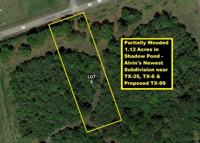 Lot 8 County Road 136, Alvin, TX 77511 (MLS #76344934) :: Connect Realty