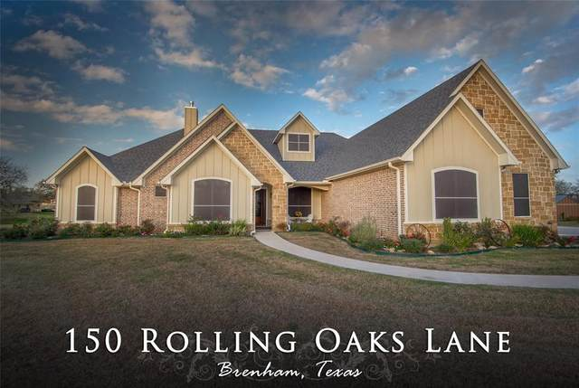 150 Rolling Oaks Lane, Brenham, TX 77833 (MLS #76368475) :: Phyllis Foster Real Estate