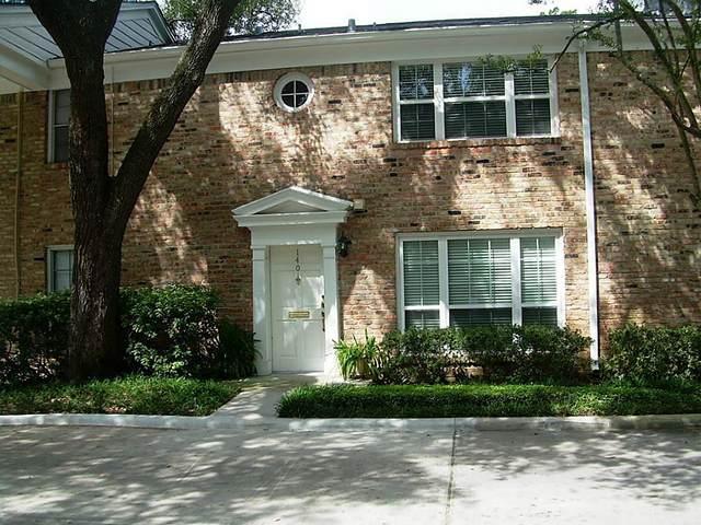 4040 San Felipe Street #140, Houston, TX 77027 (MLS #76423060) :: Caskey Realty