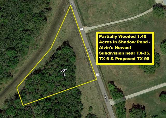 3828 County Road 326 Lot 16, Alvin, TX 77511 (MLS #7649818) :: The Bly Team