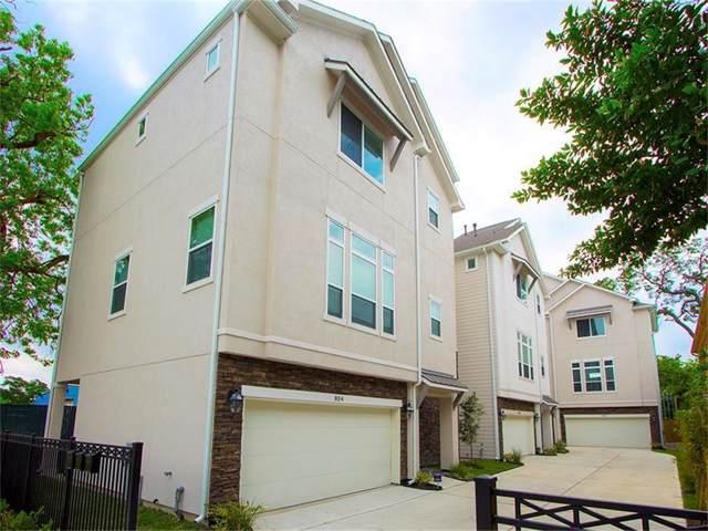 834 W 25th, Houston, TX 77008 (MLS #76504784) :: Giorgi Real Estate Group