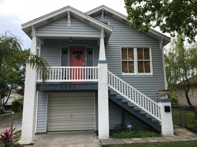 5506 Avenue R 1/2, Galveston, TX 77551 (MLS #76675421) :: The Home Branch