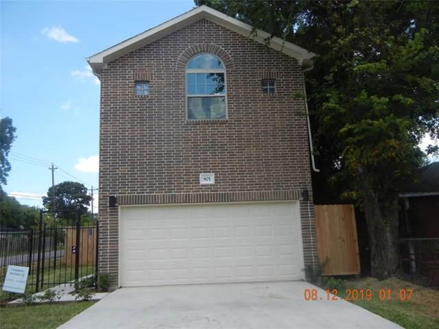 801 E 40th, Houston, TX 77022 (MLS #77447263) :: Giorgi Real Estate Group