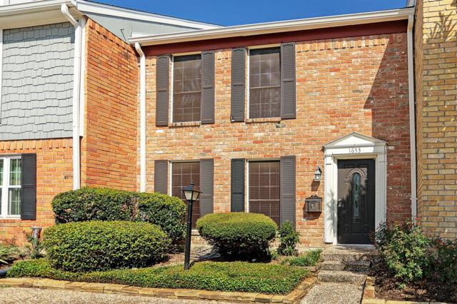 1653 W Sam Houston Parkway S, Houston, TX 77042 (MLS #77675016) :: Caskey Realty