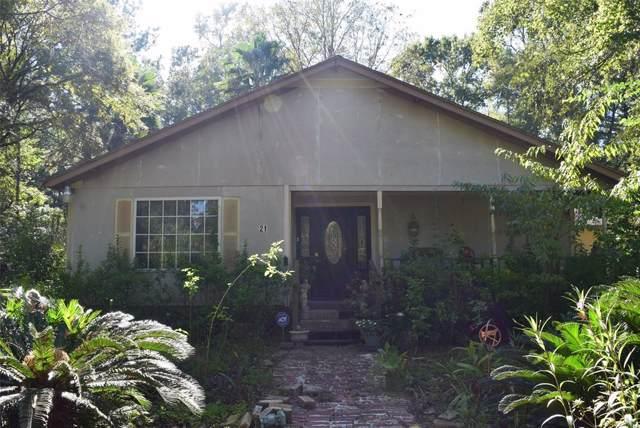 21 Elderberry Road, Shepherd, TX 77371 (MLS #77730242) :: Texas Home Shop Realty