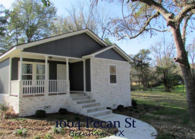 1004 Pecan Street, Brenham, TX 77833 (MLS #77763001) :: Texas Home Shop Realty