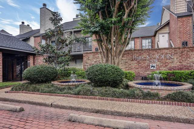 2829 Timmons Lane #209, Houston, TX 77027 (MLS #78434677) :: Giorgi Real Estate Group