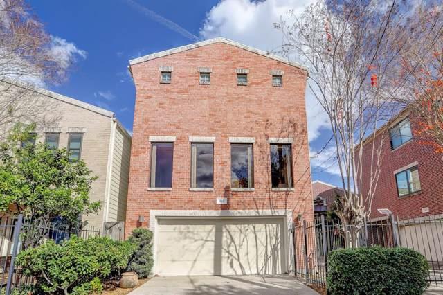 303 Drew Street, Houston, TX 77006 (MLS #78655483) :: The Sansone Group