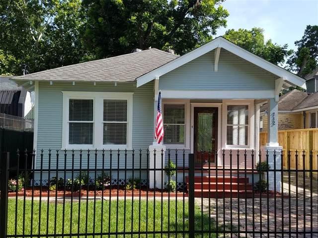 712 E 29th Street, Houston, TX 77009 (MLS #78675633) :: My BCS Home Real Estate Group