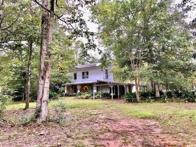 275 Lake Camelot Circle Cnr Galaha Road, Woodville, TX 75979 (MLS #78813470) :: Texas Home Shop Realty