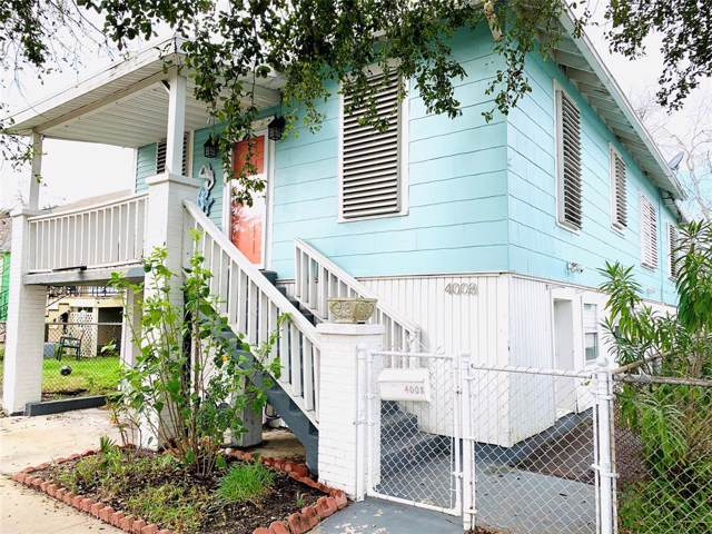 4008 Avenue O, Galveston, TX 77550 (MLS #78897082) :: CORE Realty