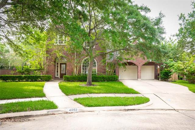 4003 Oak Shadows Court, Sugar Land, TX 77479 (MLS #7923126) :: The SOLD by George Team
