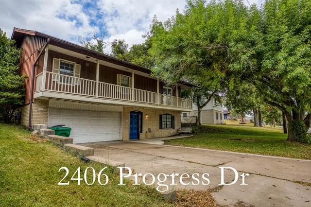 2406 Progress Drive, Brenham, TX 77833 (MLS #79283621) :: Christy Buck Team