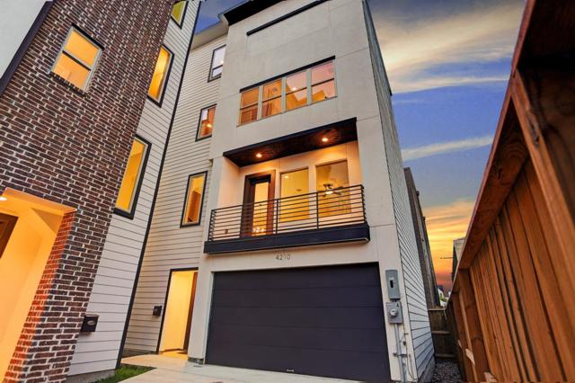 4210 Eli Street A, Houston, TX 77007 (MLS #79317543) :: The SOLD by George Team