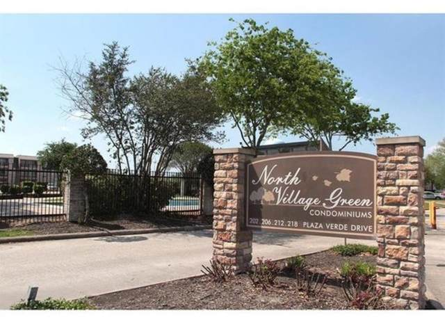 206 Plaza Verde Drive #38, Houston, TX 77038 (MLS #79552378) :: The SOLD by George Team