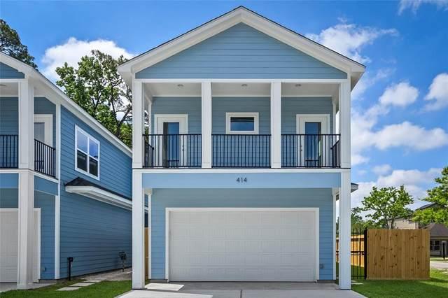 414 Sikes Street, Houston, TX 77018 (MLS #79681870) :: Caskey Realty