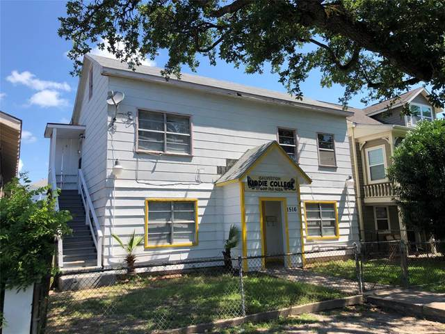 1516 Avenue K, Galveston, TX 77550 (MLS #79720918) :: Connect Realty