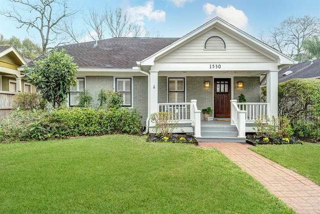 1530 Harvard Street, Houston, TX 77008 (MLS #79797370) :: Caskey Realty