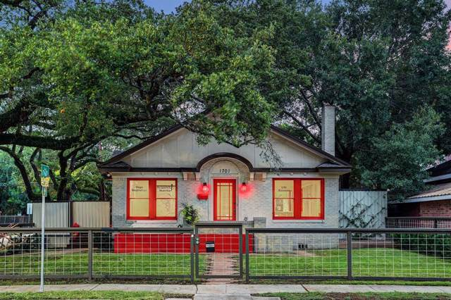 1701 Fairview Avenue, Houston, TX 77006 (MLS #8006053) :: Texas Home Shop Realty