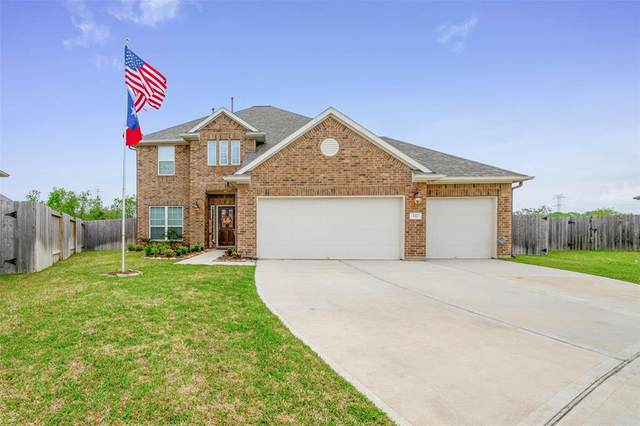 337 Burgundy Drive, Alvin, TX 77511 (MLS #801405) :: The Freund Group