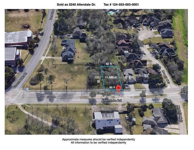 5240 Allendale Road, Houston, TX 77017 (MLS #80315488) :: Michele Harmon Team