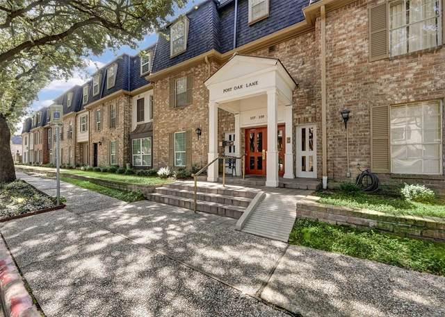 361 N Post Oak Lane #237, Houston, TX 77024 (MLS #80555706) :: The SOLD by George Team