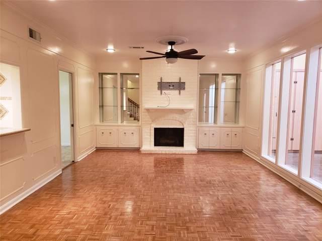 575 N Post Oak Lane, Houston, TX 77024 (MLS #806161) :: Texas Home Shop Realty