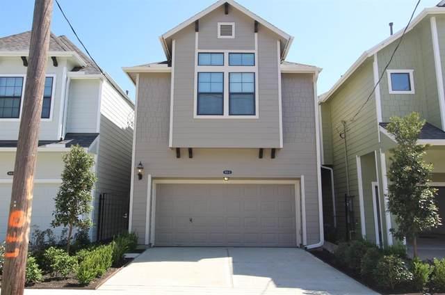 4806 Michaux Street B, Houston, TX 77009 (MLS #80787655) :: Caskey Realty