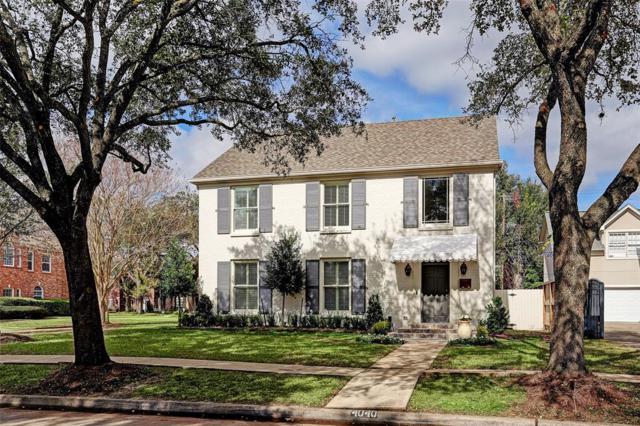4040 Marlowe Street, Houston, TX 77005 (MLS #80826014) :: The Kevin Allen Jones Home Team