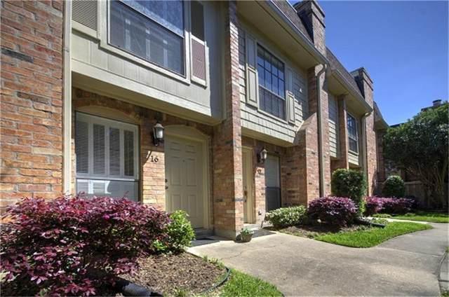 1601 S Shepherd Drive #16, Houston, TX 77019 (MLS #8085832) :: Homemax Properties