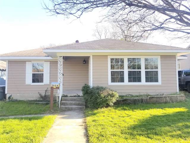 2904 Homan Avenue, Waco, TX 76707 (MLS #81093656) :: The SOLD by George Team