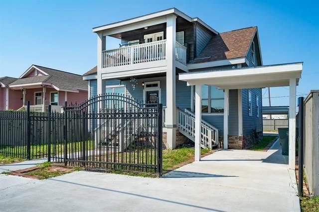 4106 Winnie Street, Galveston, TX 77550 (MLS #81267926) :: Rachel Lee Realtor