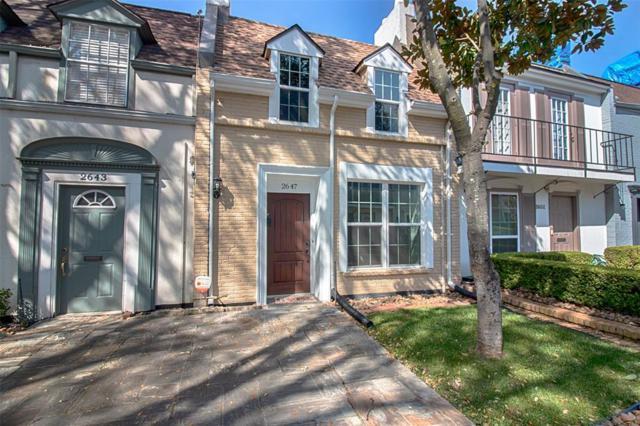 2647 Marilee Lane, Houston, TX 77057 (MLS #81289761) :: Green Residential