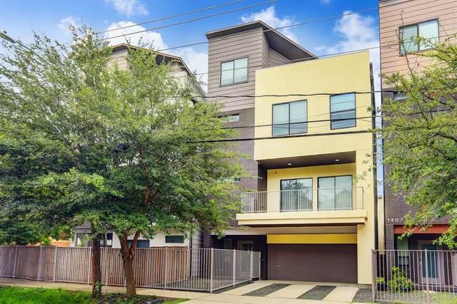 1405 Thompson Street, Houston, TX 77007 (MLS #8157602) :: The Sansone Group