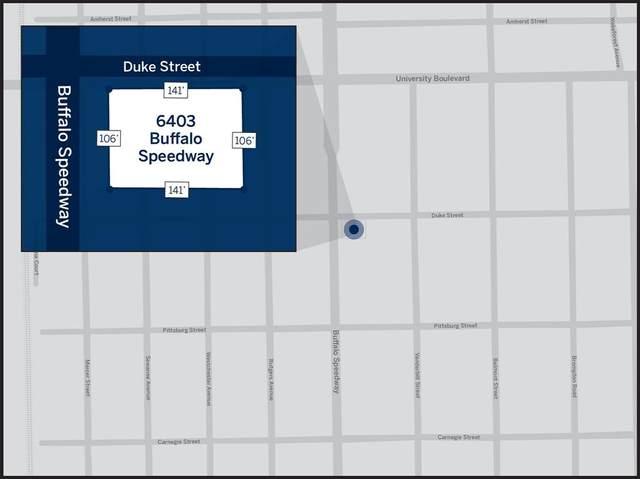 6403 Buffalo Speedway, West University Place, TX 77005 (MLS #8167783) :: Caskey Realty