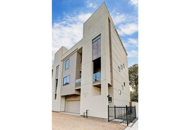 607 W Polk Street A, Houston, TX 77019 (MLS #81680759) :: Team Parodi at Realty Associates