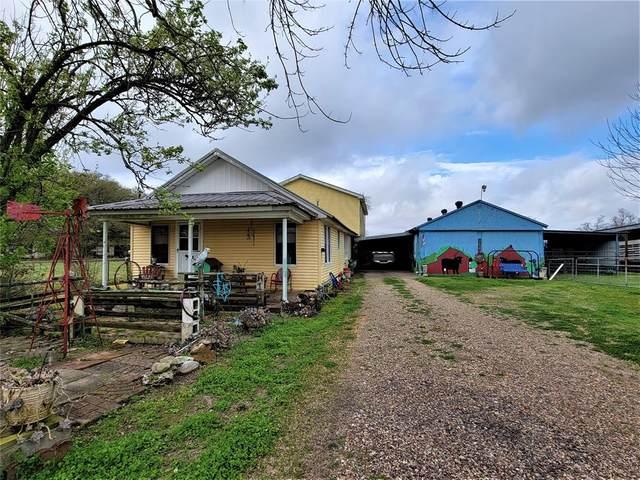1734 County Road 2060, Hull, TX 77564 (#81731316) :: ORO Realty