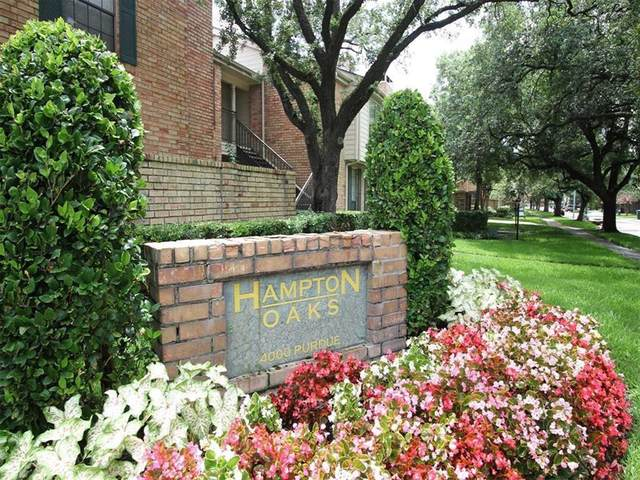 4000 Purdue Street #157, Houston, TX 77005 (MLS #8195287) :: Connect Realty