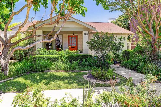 1815 Mcduffie Street, Houston, TX 77019 (MLS #82346494) :: Fanticular Real Estate, LLC