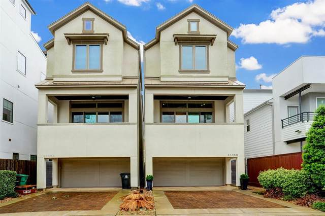 6105 Tyne Street B, Houston, TX 77007 (MLS #8238774) :: Green Residential