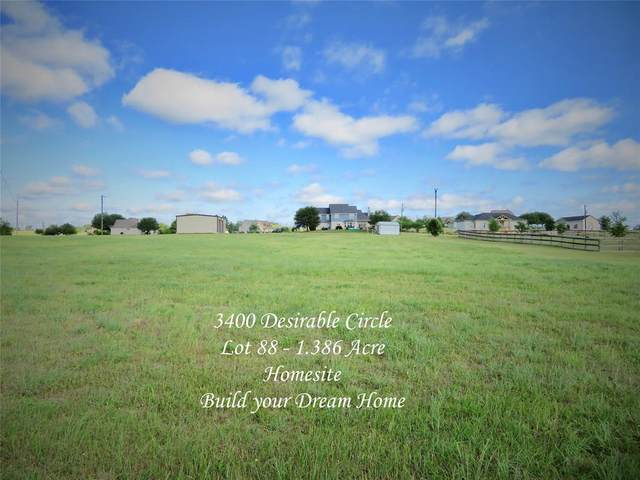 3400 Desirable Circle, Brenham, TX 77833 (MLS #8247270) :: The SOLD by George Team