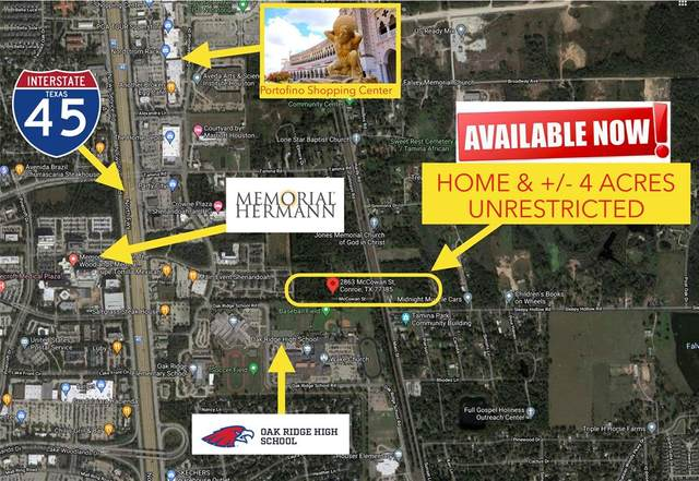 2863 Mccowan Street, Conroe, TX 77385 (MLS #82587408) :: The Parodi Team at Realty Associates