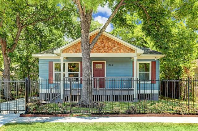1508 Sydnor Street, Houston, TX 77020 (MLS #82789039) :: The SOLD by George Team