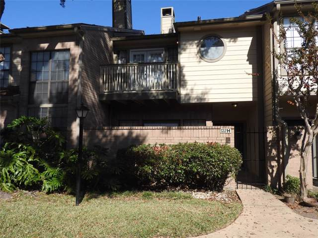 722 Country Place Drive H, Houston, TX 77079 (MLS #83190497) :: Texas Home Shop Realty
